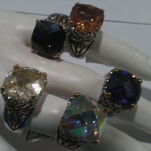 Cable Ring in MANY COLORS & sizes NWT